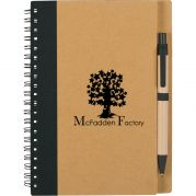 Eco Spiral Notebooks & Pens