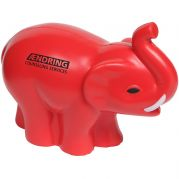 Elephant With Tusk Stress Reliever