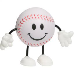Baseball Figure Stress Relievers