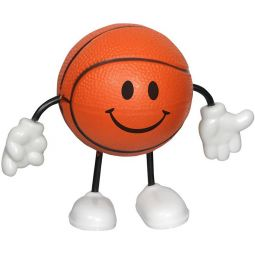 Basketball Figure Stress Relievers