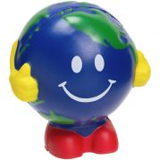 Earthball Man Stress Ball