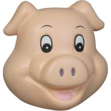 Pig Funny Face Stress Relievers