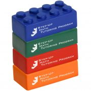 Building Block 4 Piece Set Stress Reliever