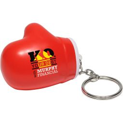 Boxing Glove Key Chains Stress Relievers