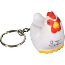 Chicken Key Chains Stress Relievers