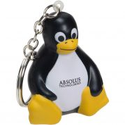 Sitting Penguin Key Chain Stress Reliever