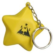 Star Key Chain Stress Reliever