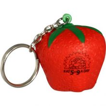 Strawberry Key Chains Stress Relievers