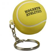 Tennis Ball Key Chain Stress Reliever