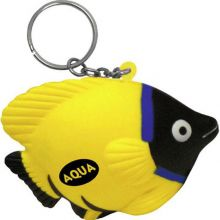 Tropical Fish Key Chains Stress Relievers