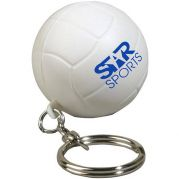Volleyball Key Chain Stress Reliever