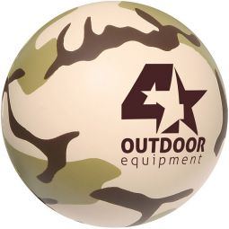 Camouflage Stress Ball Stress Relievers