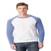 Alternative Colorblocked Eco Fleece Crewneck Sweatshirt