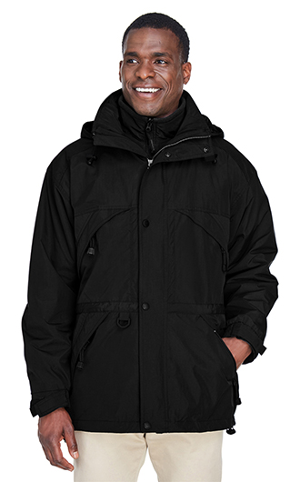 Men's 3-in-1 Techno Series Parka with Dobby Trim