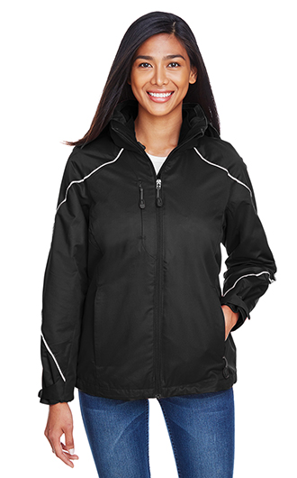 Angle Women's 3-in-1 Jackets with Bonded Fleece Liner
