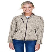 Peak Ladies' Sweater Fleece Jacket
