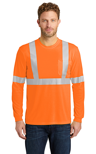 ANSI 107 Class 2 Long Sleeve Safety T-shirts