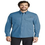 Eddie Bauer Mens Long Sleeve Fishing Shirt