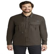 Eddie Bauer Mens Long Sleeve Performance Fishing Shirt