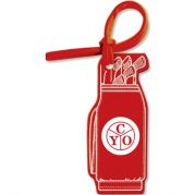 Bag & Luggage Tag - Golf Bag - Spot Color