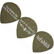 GrippX - Jumbo Jazz Black Guitar Pick