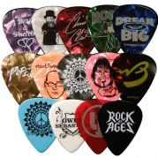 Celluloid Colored Guitar Pick