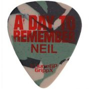 Celluloid Camo Guitar Pick