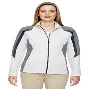 Strike Ladies' Color-Block Fleece Jacket