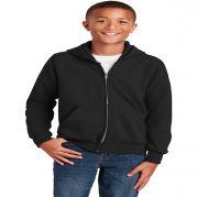Hanes - Youth Comfortblend EcoSmart Full-Zip Hooded Sweatshirt