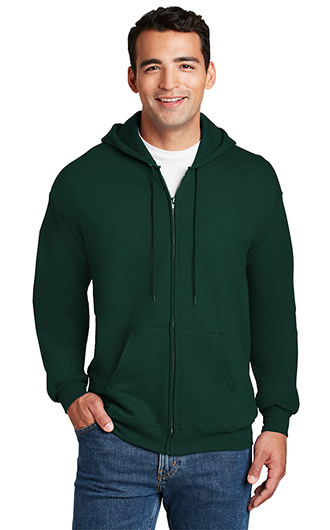 Hanes - Ultimate Cotton - Full-Zip Hooded Sweatshirts