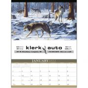 Wildlife Art by the Hautman Brothers Calendar