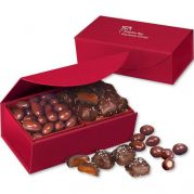 Chocolate Covered Almonds & Chocolate Sea Salt Caramels