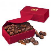 Chocolate Sea Salt Caramels & Cocoa Dusted Truffles