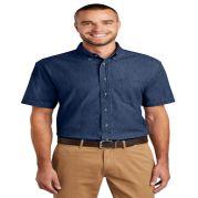 Port & Company Short Sleeve Value Denim Shirt