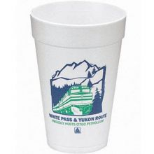 16 oz. 500 Line Foam Cups