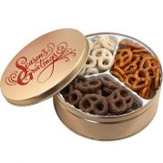 3 Way Pretzel Mix Tin