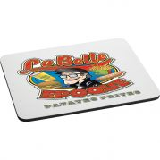 Rectangular 1/4 Rubber Mouse Pad