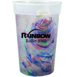 17 oz. Rainbow Confetti Mood Cups