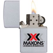 Satin Chrome Zippo Windproof Lighter