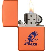Matte Color Windproof Zippo Lighters