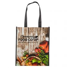 Laminated Grocery Totes