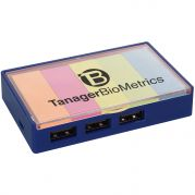 3-Port USB Hub With Sticky Flags