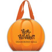 Reflective Halloween Pumpkin Non-Woven Tote Bag