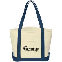 Heavy Cotton Canvas Boat Tote Bags
