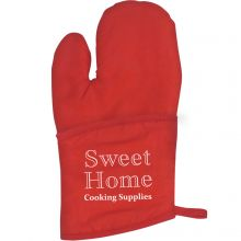 Quilted Cotton Canvas Oven Mitt