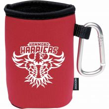 Koozie Collapsible Can Kooler with Carabiner