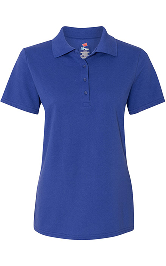 Hanes - Women's X-Temp Pique Sport Shirt with Fresh IQ