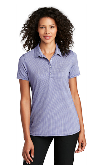 Port Authority  Ladies Gingham Polo