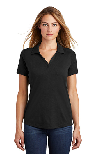 Sport-Tek  Women's PosiCharge  Tri-Blend Wicking Polo