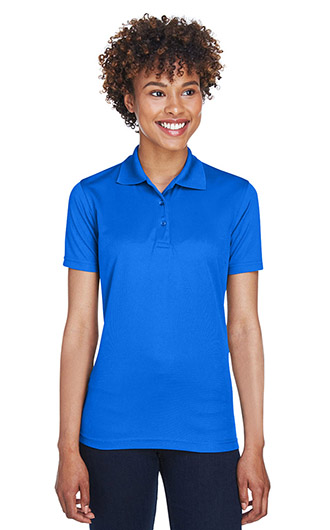 UltraClub Women's Cool & Dry Mesh Pique Polo